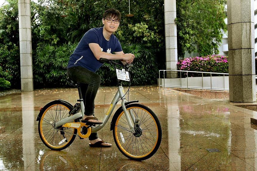 Always on the lookout for new ideas, Mr Shi Yi started oBike, a stationless smart bike-sharing company in Singapore early this year. Since then, the start-up has penetrated 11 markets, including South Korea, Britain and Australia. He is aware that th