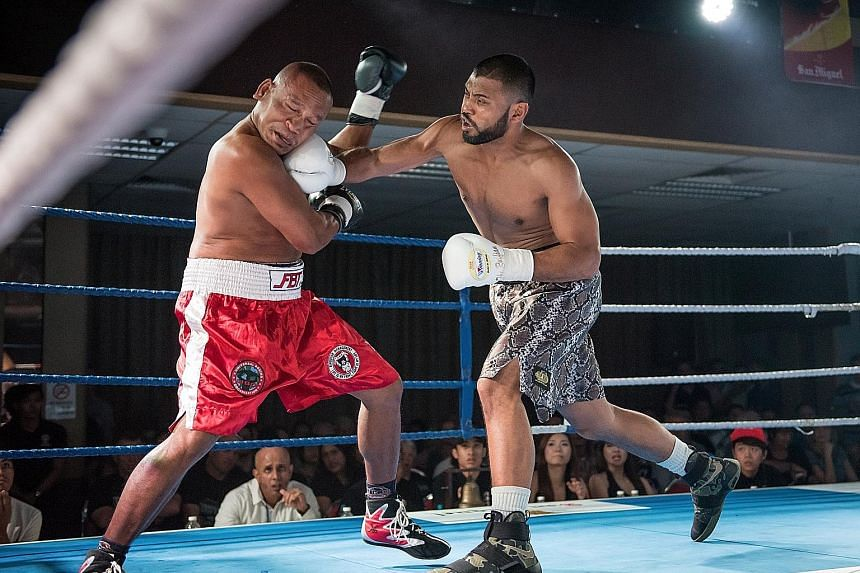 There is growing interest in events like Roar of Singapore, held in February, when Singaporean boxer Rafi Majid (right) emerged victorious against Thailand's Plaisakda Boonmalert.