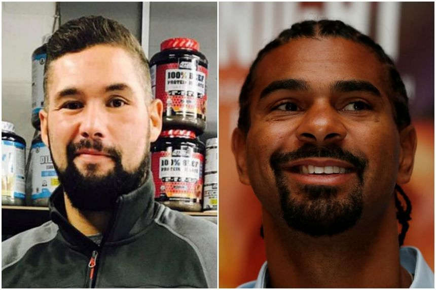 British rivals Tony Bellew (left) and David Haye will have a rematch at London's 02 Arena on Dec 17.