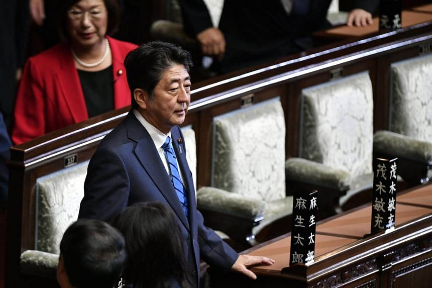 In a Kyodo survey conducted on Sept 30 and Oct 1, 46.2 per cent of respondents said they did not support Japanese Prime Minister Shinzo Abe's administration, exceeding 40.6 per cent expressing support.