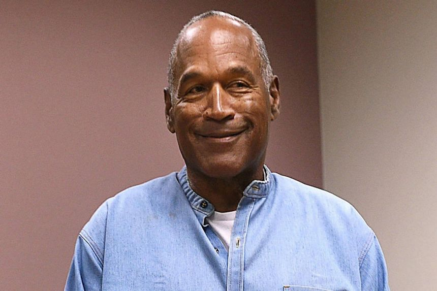 O.J. Simpson has been in prison since 2008 after being convicted of a botched robbery.