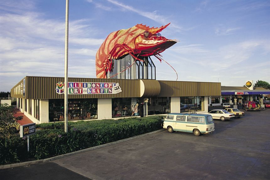 """The Big Prawn (above) in Ballina, on the north coast of New South Wales, and the Big Trout at Adaminaby in south-west New South Wales. First installed to attract visitors in the 1960s, there are now 200 or more """"big things"""" around Australia."""