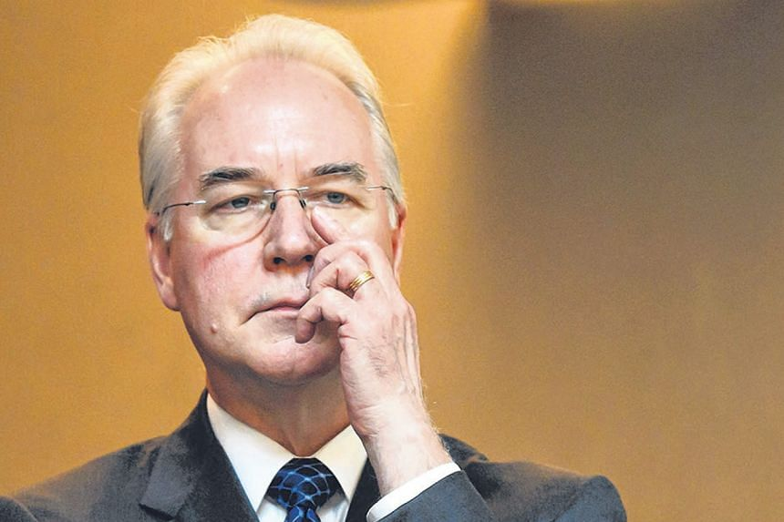 Already in trouble with President Donald Trump for months of unsuccessful efforts to repeal and replace Obamacare, US Health and Human Services Secretary Tom Price failed to defuse his anger by offering regret and a partial reimbursement.