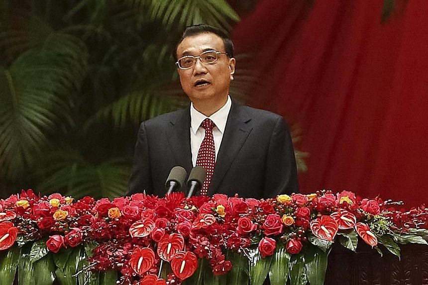Chinese Premier Li Keqiang during a national day reception in Beijing last Saturday.