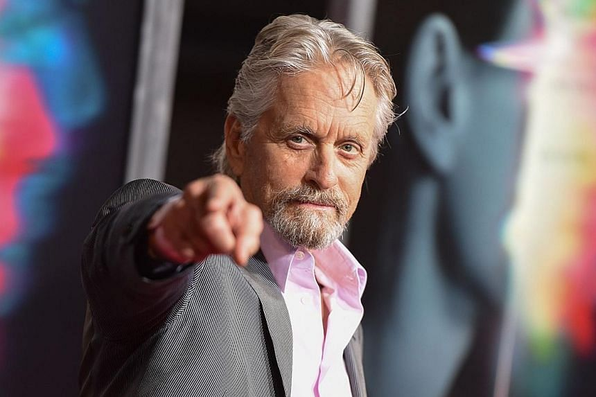 Michael Douglas, now 73, said he almost drowned while swimming in the sea when he was a university student in the 1960s.