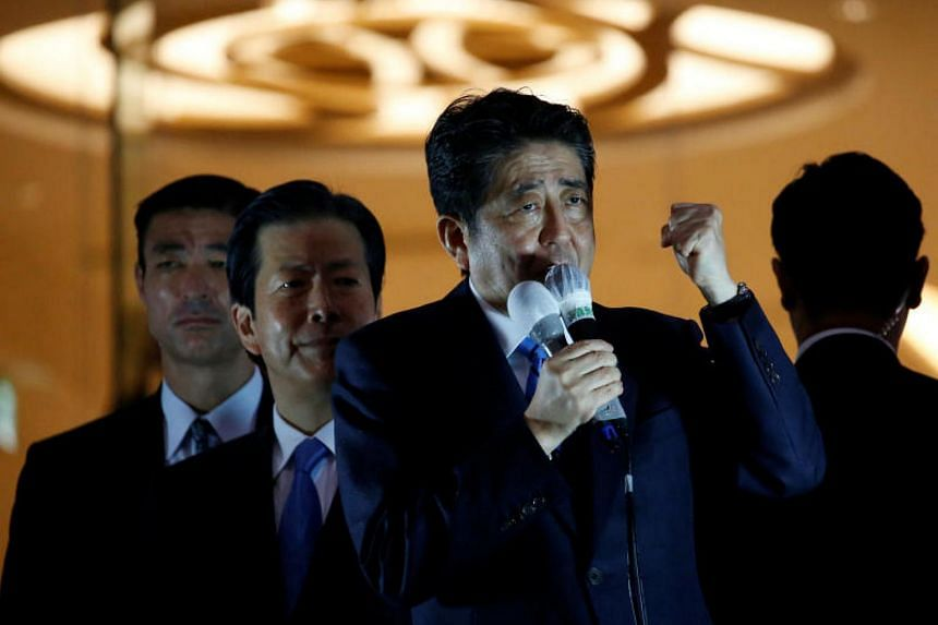 Japan's Prime Minister Shinzo Abe has made spending on education and welfare a central plank of his election campaign.