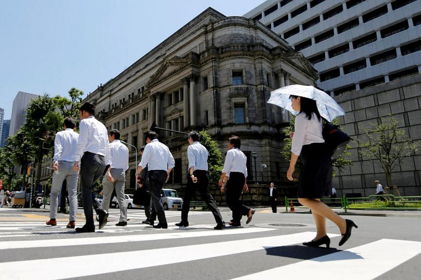 """The Bank of Japan """"tankan"""" survey could also help premier Shinzo Abe as he tries to convince voters in an Oct 22 election that his """"Abenomics"""" stimulus policies have improved their livelihoods, analysts say."""