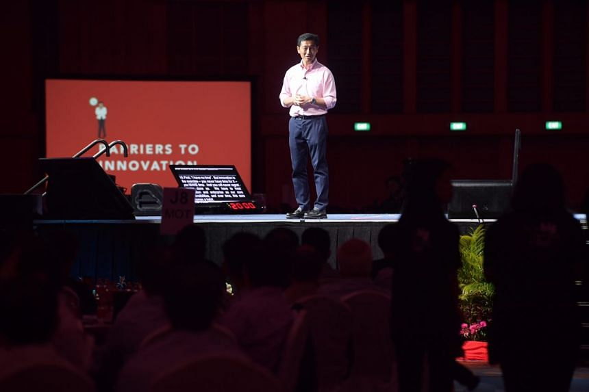 Singapore needs to create an environment where more game-changing ideas can flourish, said Minister for Education (Higher Education and Skills) Ong Ye Kung, in his keynote speech at the Public Service Conference.