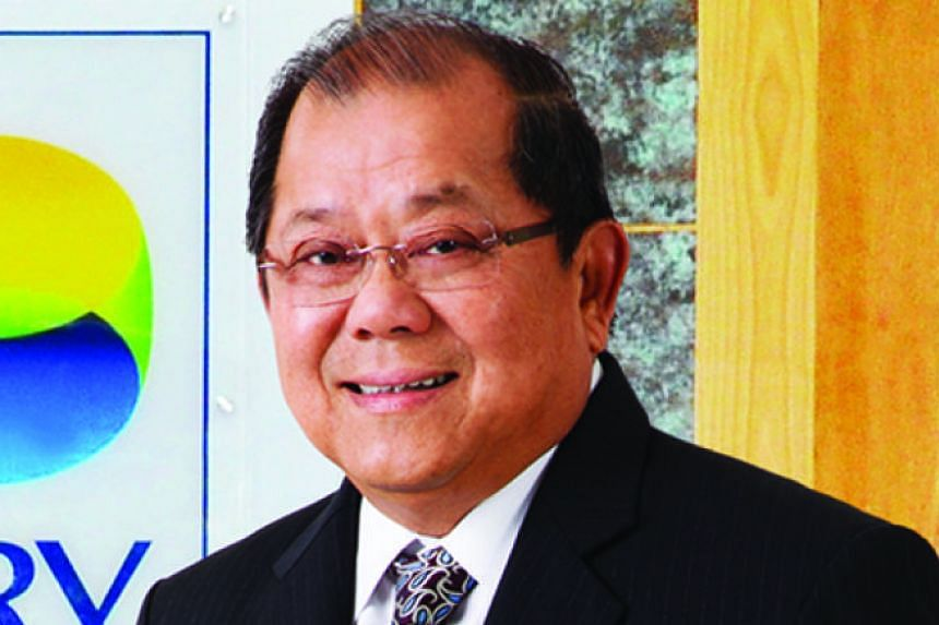 Rotary chairman Roger Chia's name is associated with Jurong Island and oil storage.