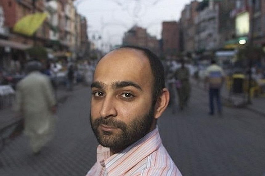 Mohsin Hamid.
