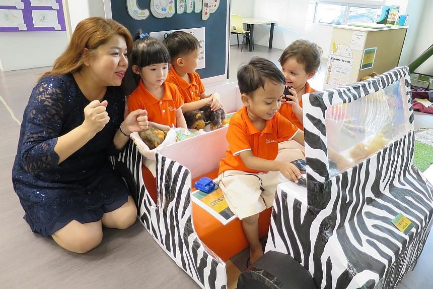 Ms Dawn Chua, executive principal of a My First Skool childcare centre in Toa Payoh, will receive the Promising Early Childhood Leader award at an award ceremony on Friday. Ms Chua spent 16 years in the corporate world before becoming an educator.