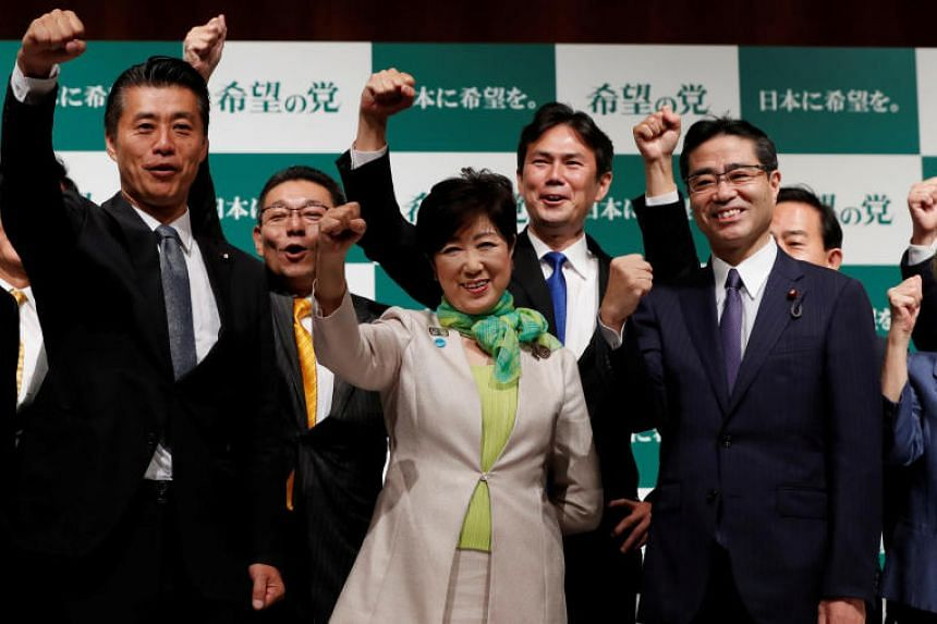 Tokyo Governor Yuriko Koike denies speculation that she would run in the general election in October, 2017.