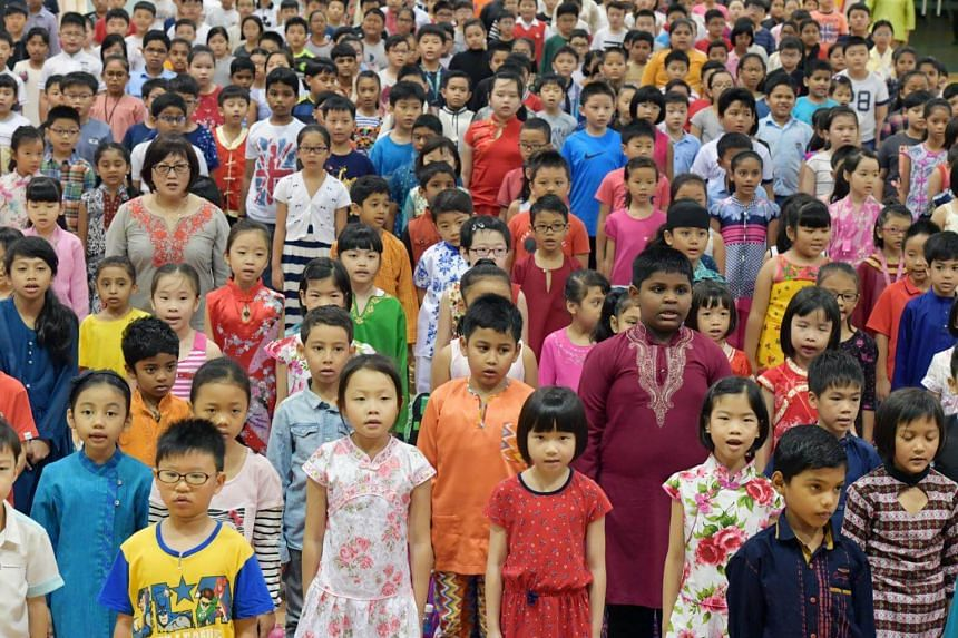 """Home Affairs and Law Minister K. Shanmugam said a strong """"Singaporean identity"""", that will overlay separate racial and religious identities and form the framework of a vibrant society is something Singapore can achieve."""