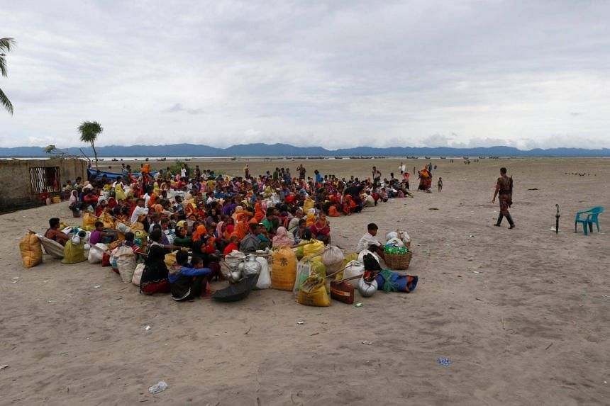Nearly 600,000 Muslim Rohingya have fled to neighbouring Bangladesh since violence erupted in Rakhine state in October 2016.