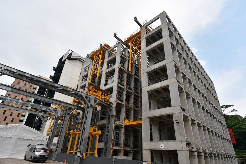 The Greyform Building, a sprawling 20,000 sq m development in Kaki Bukit that cost $150 million was launched by the Straits Construction Group on Oct 3, 2017.