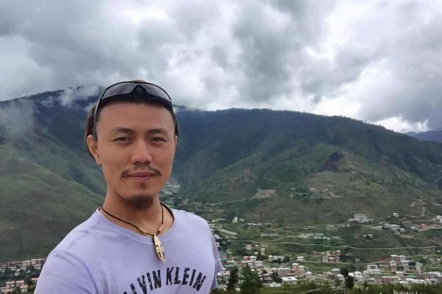 Singaporean Marcus Seng, 30, was on his motorbike on the Las Vegas Strip on Sunday (Oct 1) night when the shooting occurred.