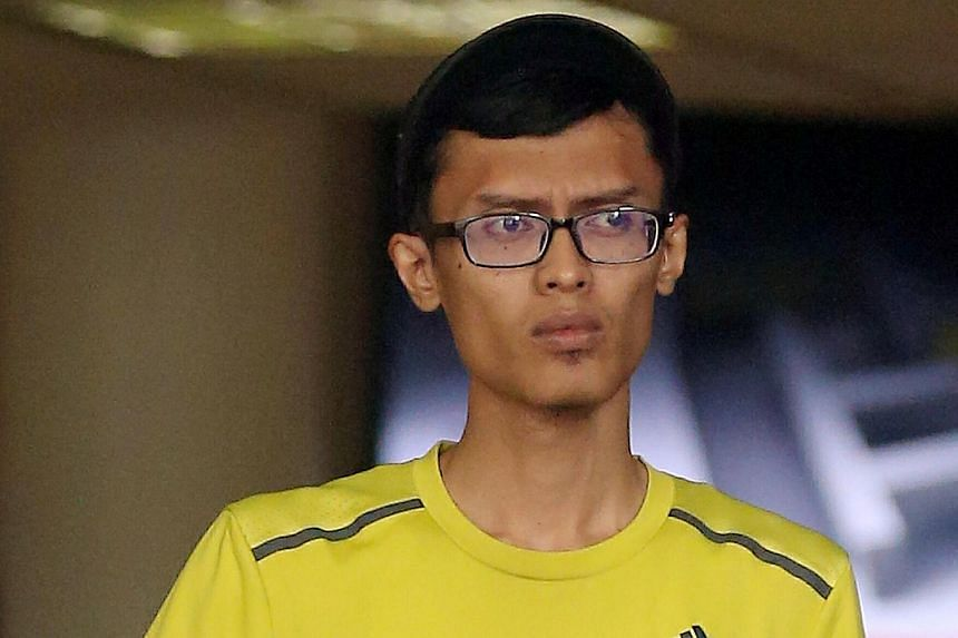 Syed Hashim Wahid had struck up a conversation with the victim before molesting him.