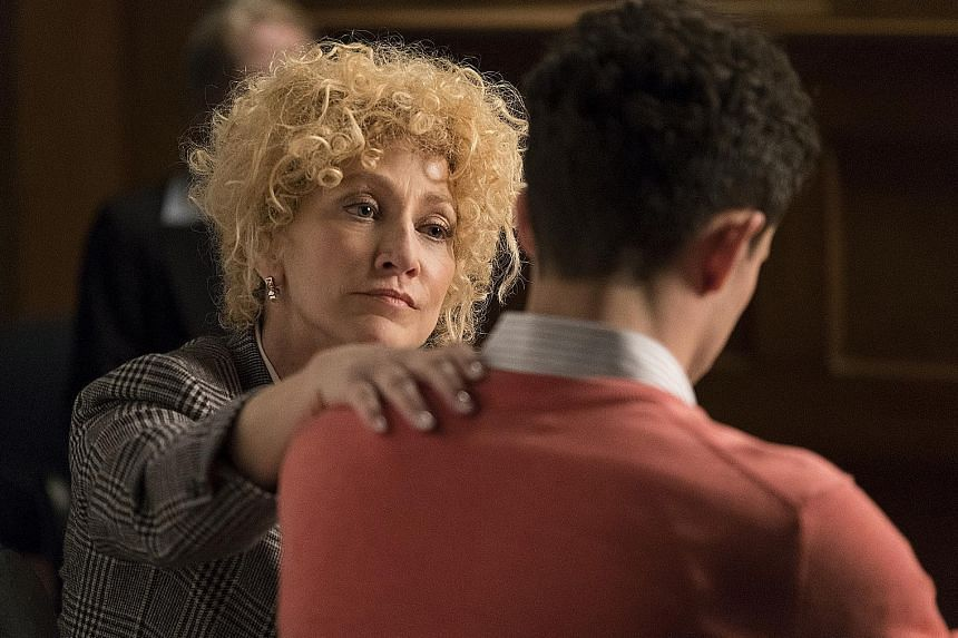 Edie Falco stars in Law & Order True Crime: The Menendez Murders as the lawyer of the two men.