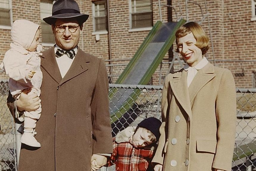 The documentary Spielberg features Steven Spielberg's storied career, which includes filming Minority Report (2002, above).A young Steven Spielberg with one of his three younger sisters, his father Arnold Spielberg and his late mother Leah Posner.
