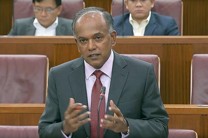 Home Affairs and Law Minister K. Shanmugam said Prime Minister Lee Hsien Loong made clear that Parliament intended to give itself the discretion to begin the count of presidential terms from President Wee Kim Wee.