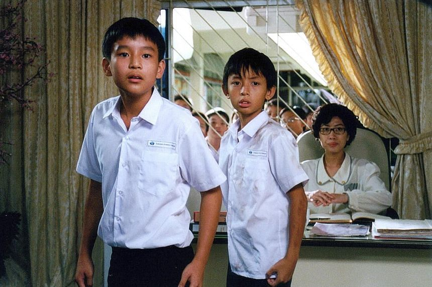 Jeff Singh in TalkingCock The Movie; Joshua Ang (left) and Shawn Lee in I Not Stupid; and Jins Shamsudin in Gerak Kilat.