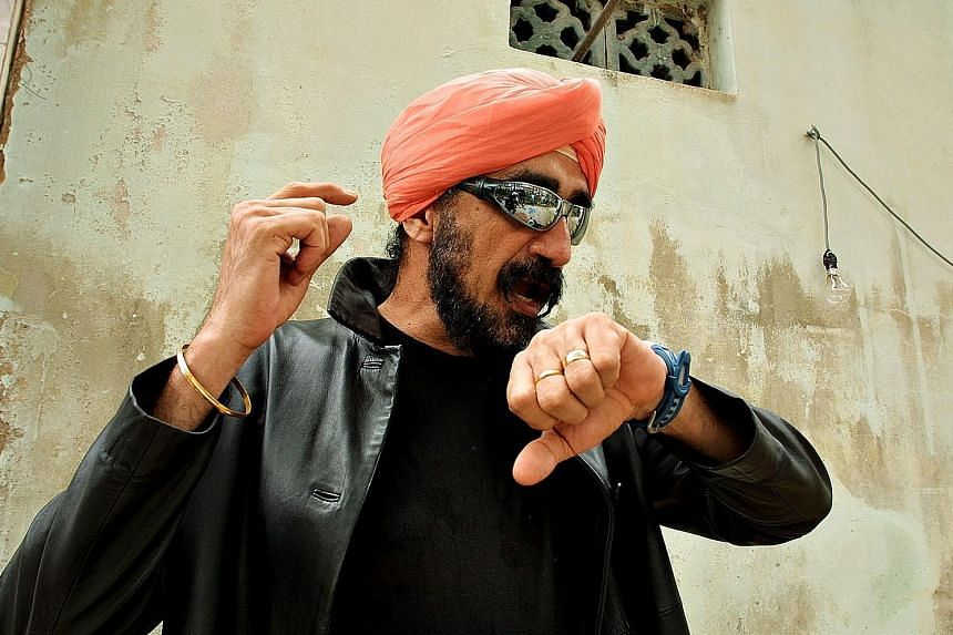 Jeff Singh (above) in TalkingCock The Movie; Joshua Ang and Shawn Lee in I Not Stupid; and Jins Shamsudin in Gerak Kilat.