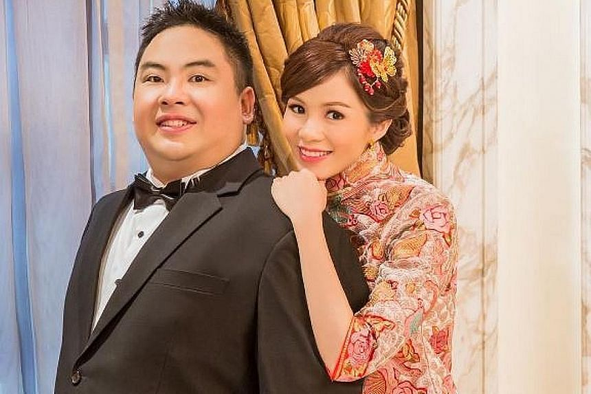 Former actress Tracy Lee and Mr Ben Goi, Popiah King Sam Goi's son, got married last Saturday.