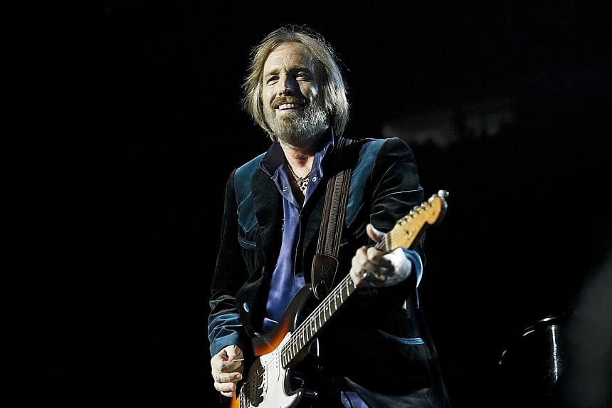 Tom Petty performing at Madison Square Garden in New York in 2010.