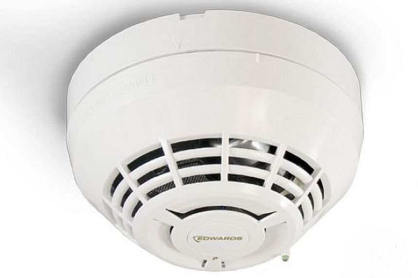 Battery-operated smoke alarms are designed to alert occupants when they sense smoke, and function independently.