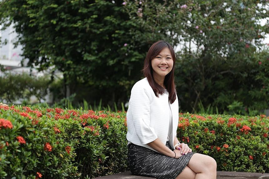 """IE Singapore's Ms April Oh said: """"We want our firms to partner the Chinese, and co-create and sell solutions to manufacturers."""""""