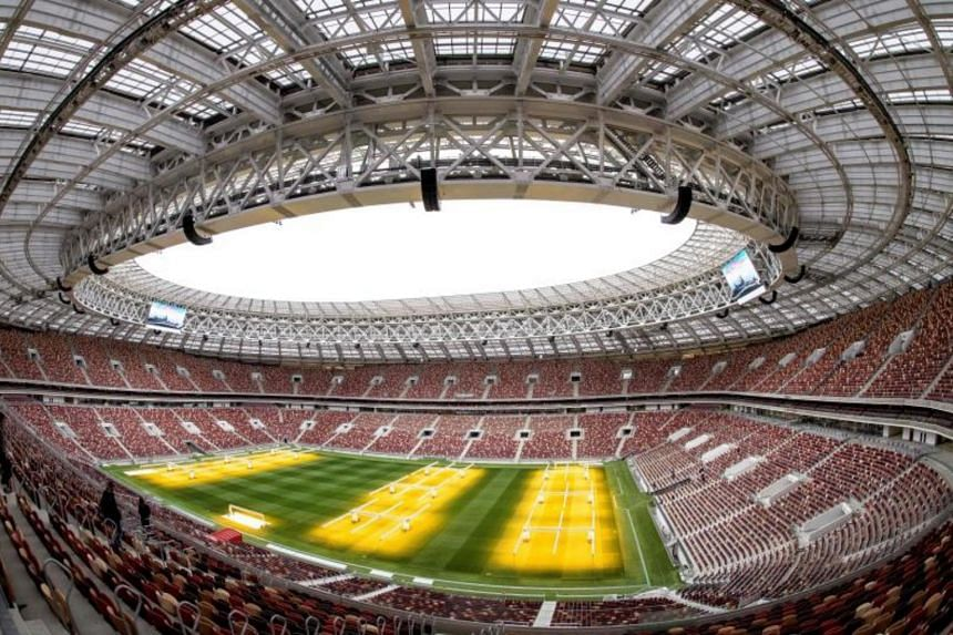 The Luzhniki Stadium in Moscow will host seven Fifa World Cup matches, including the final.
