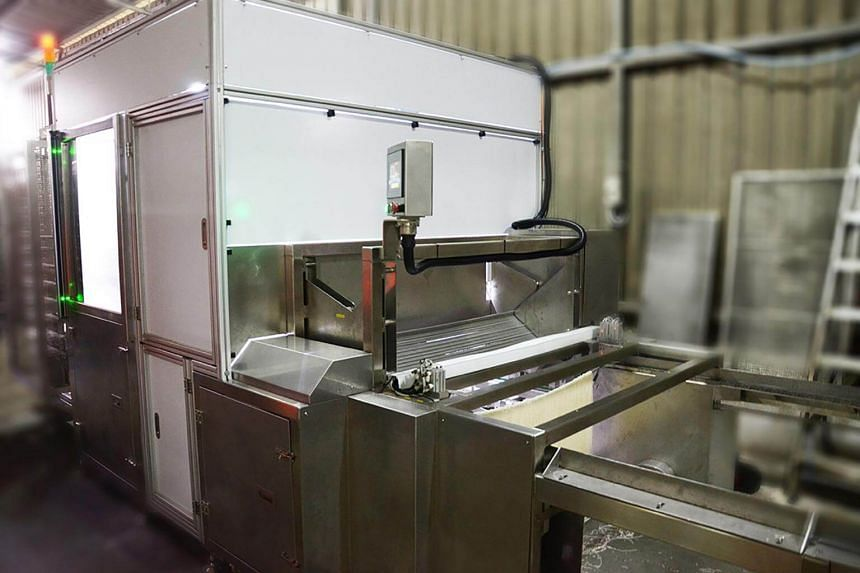 In a year, the team developed a beehoon folding machine which the company has been using ever since.
