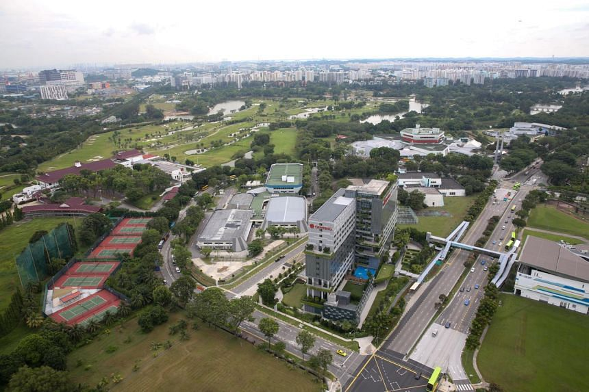Generic photo of the Jurong area that will undergo vast developments over the next decade for the high-speed rail that will connect Singapore to Kuala Lumpur, Malaysia.