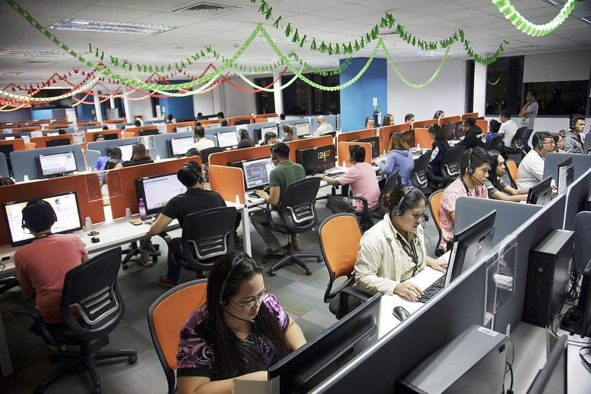 The Philippines is the world's top call centre destination with companies such as Accenture and American Express among those that have set up shop in the South-east Asian nation.