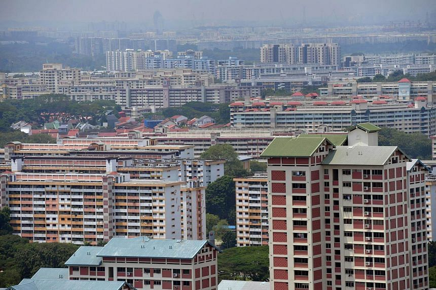There were 1,683 HDB resale flats sold in September, a 14 per cent drop from 1,957 transacted units in August.