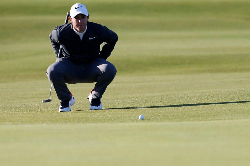 Northern Ireland's Rory McIlroy during the first round of the Alfred Dunhill Links Championship on Oct 5, 2017.