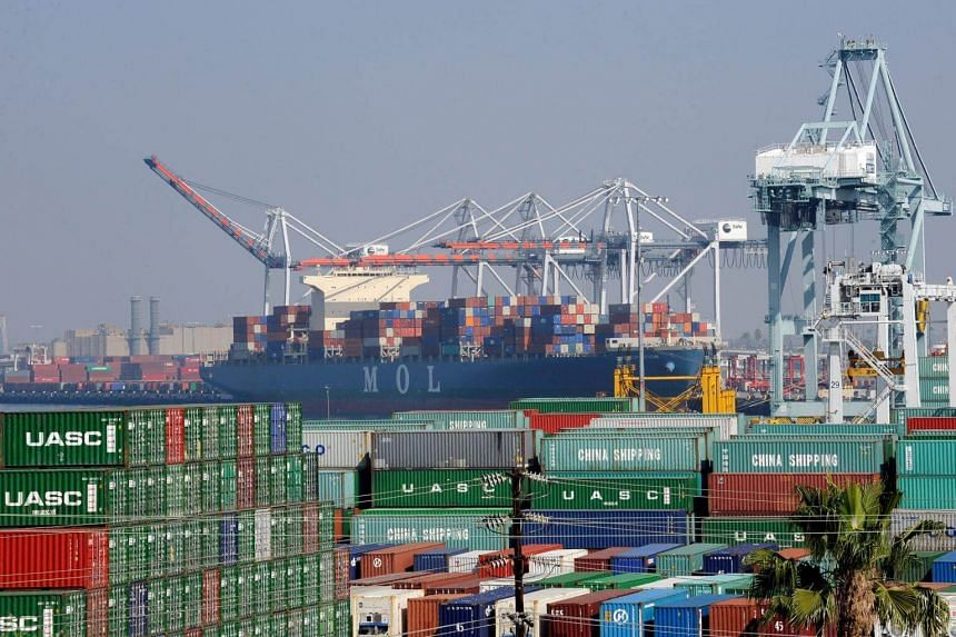 July's trade deficit was revised slightly down to US$43.6 billion from the previously reported US$43.7 billion.
