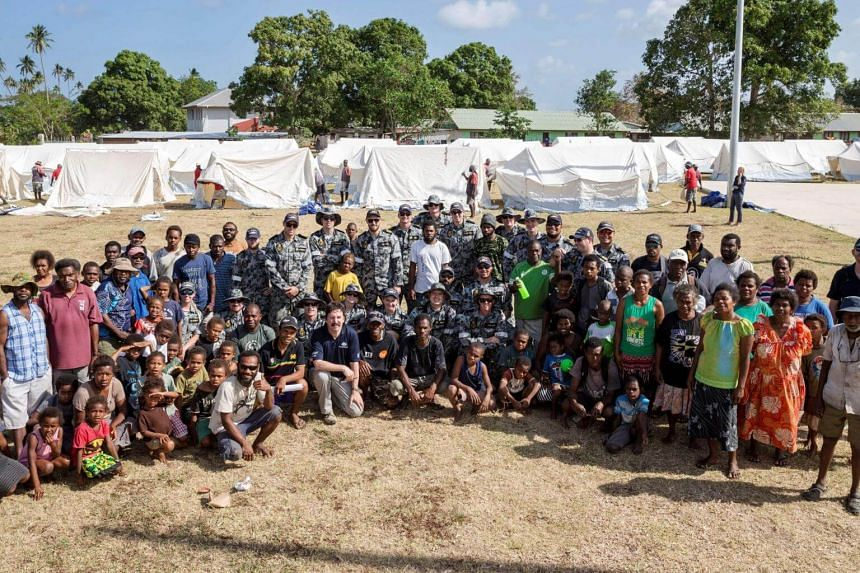 The evacuation of more than 11,000 people from a Vanuatu island threatened by a volcano was completed on Thursday, Oct 5, 2017.
