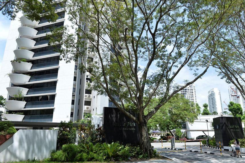 Amber Park condominium in Katong is built in 1986.