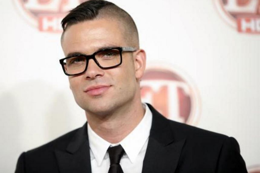 Actor Mark Salling arrives at the Entertainment Tonight Emmy Party in Los Angeles, California, on Sept 19, 2011.