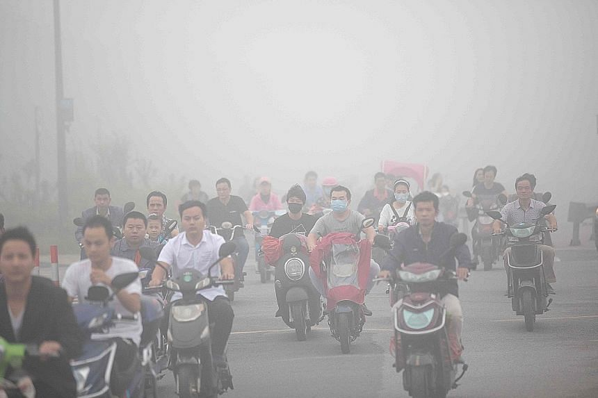 On average, the air quality in China's largest cities deteriorated in the first six months of this year, and local governments have been urged to step up enforcement of environmental laws and regulations.