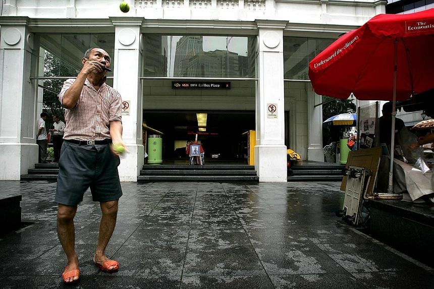 A scene from Singapore GaGa (2006) by Tan Pin Pin, which will be shown at The Projector on Sunday.