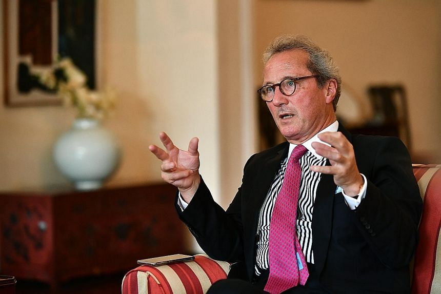 Britain's Advocate-General for Scotland Richard Keen said Singapore and Britain stand to learn from each other, given their close trade links and shared perspectives. Lord Keen is here on a three-day visit.