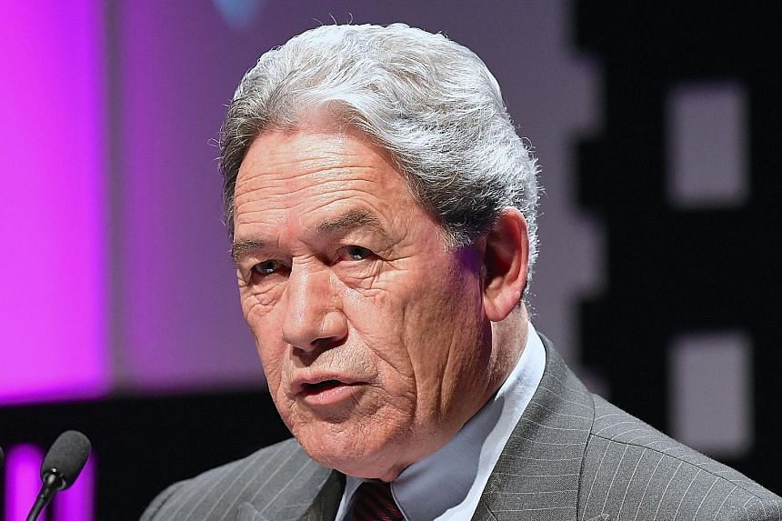 Mr Winston Peters is leader of the First Party, which now holds the balance of power after the Sept 23 election.