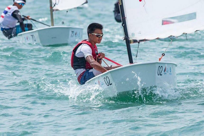 Daniel finished with 48 points after 10 races, comfortably ahead of Turkey's Demir Dirik (64) and China's Lin Xilun (65).