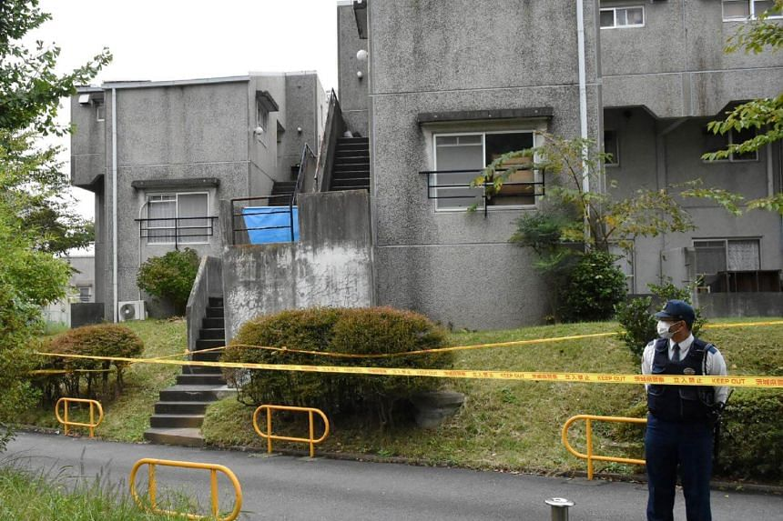 Hirobumi Komatsu told the authorities he started the fire at the family's home in Hitachi City, some 100km north of Tokyo.