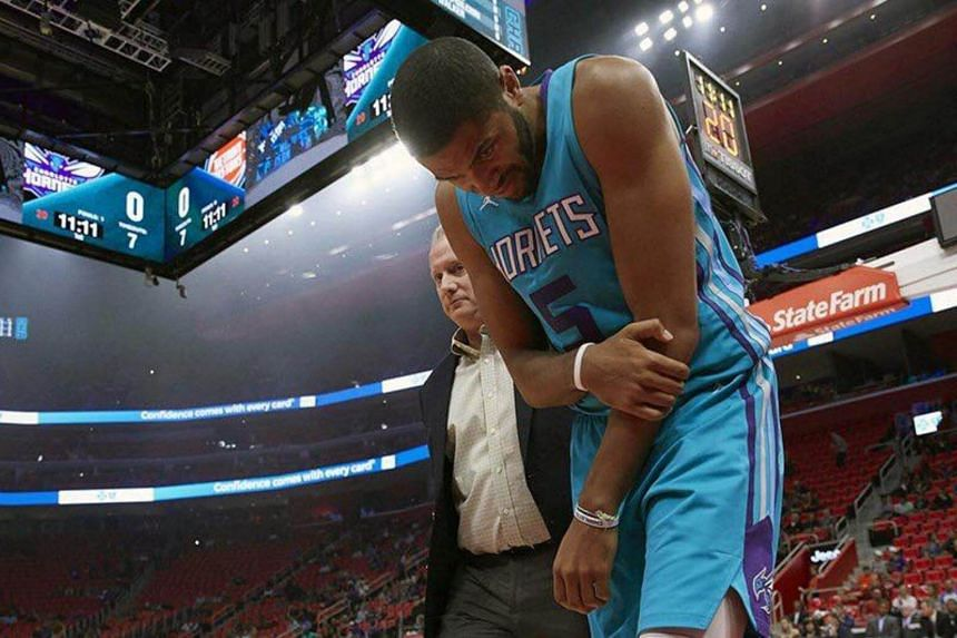 There are fears that Charlotte Hornets shooting guard Nicolas Batum could end up being sidelined for as long as 12 weeks due to the injury.
