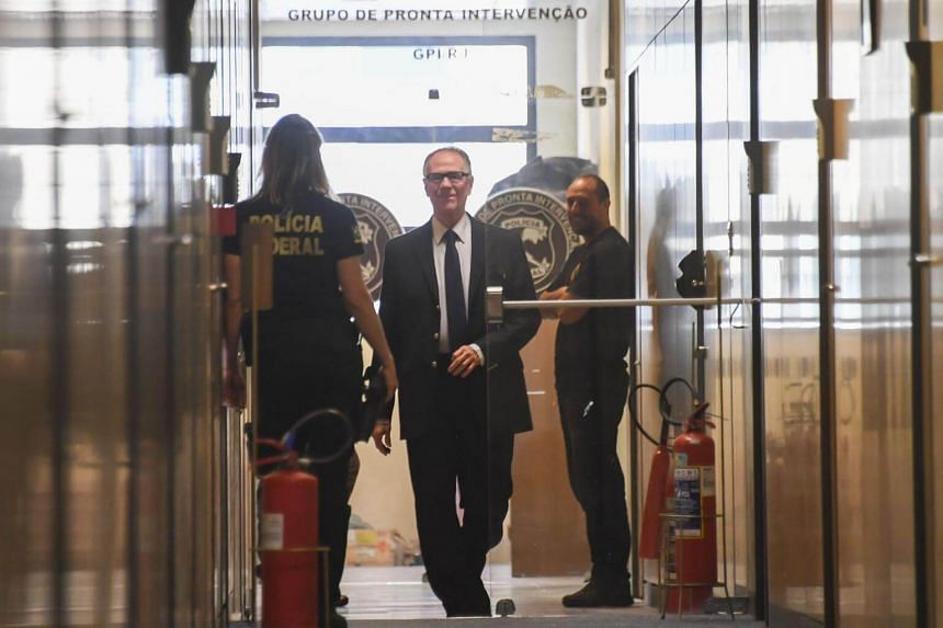 Carlos Arthur Nuzman was suspended by the International Olympic Committee (IOC) on Friday after his arrest for allegedly arranging more than US$2 million (S$2.7 million) in bribes to get the IOC to pick Rio de Janeiro to host the 2016 games.