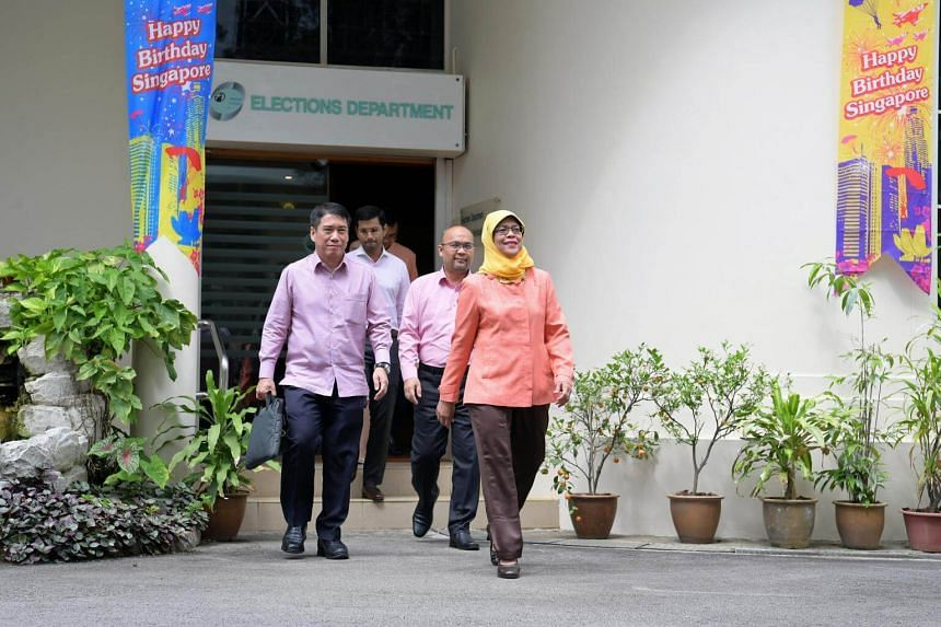 While there was no contest, President Halimah is understood to have incurred expenses, including from her website, which she would have to declare.