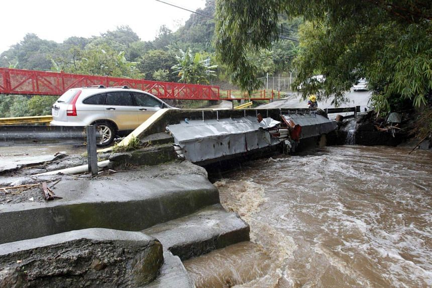 Costa Rica declared a national emergency as it struggled with mudslides, washed out roads and overflowing rivers.